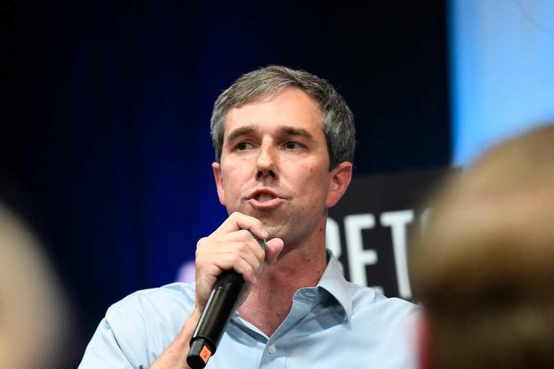 Den demokratiske presidentaspiranten och tidigare kongressledamoten från Texas Beto O'Rourke.