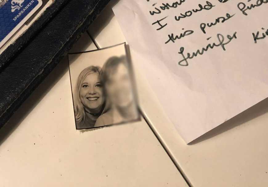 Och en bild på Jennifer, 21.