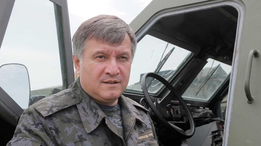 Ukrainas inrikesminister Arsen Avakov. Arkivbild.