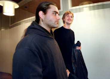 Två av männen bakom Pippirull: Bobbo Krull och Olle Palmlöf. Hittills har deras satir friats i två instanser.