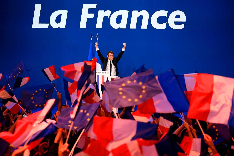 Macron vann valet, men hans popularitetssiffror dalar