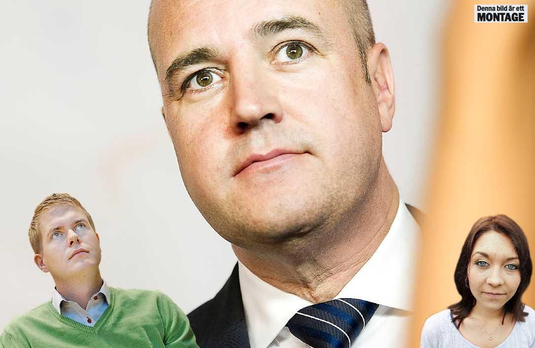 VIKER SIG Gustav Fridolin och Maria Ferm kommer att ha en del att förklara för sina väljare när Reinfeldts intresse för samarbete svalnat.