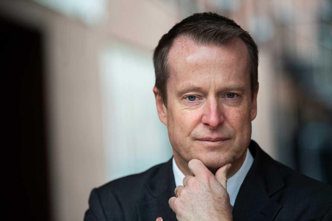 Energiminister Anders Ygeman (S) avfärdar Vänsterparties utspel. Arkivbild.