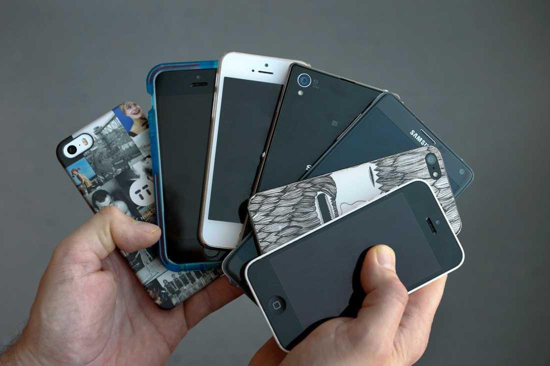 Socialdemokraterna vill införa pant på mobiltelefoner.