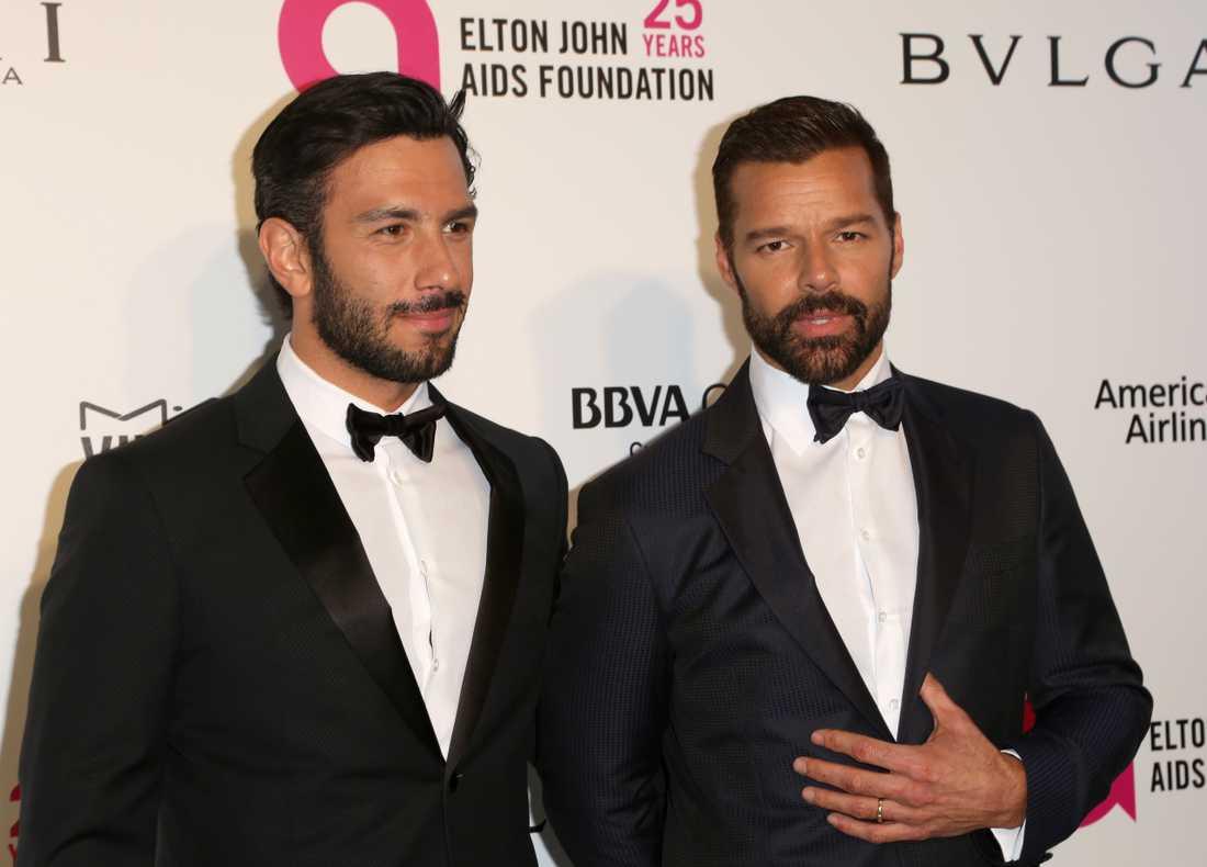 Ricky Martin och Jwan Yousef har välkomnat dottern Lucia Marin-Yosef till familjen.