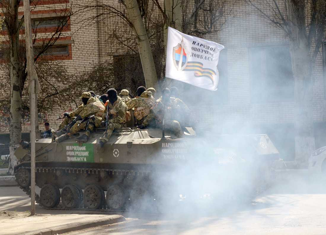 Separatister på en bandvagn.