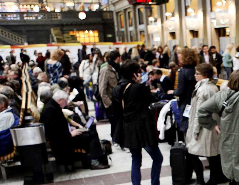 Enligt Säpo kan bombmannen varit på väg till Centralstationen i Stockholm – där han hade gjort mest skada i trängseln. Ett annat mål kan ha varit julträngseln på Åhléns.