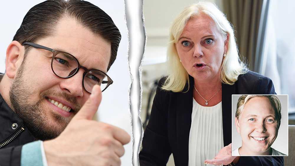 Den manliga toppkandidat som anklagas för att ha utsatt en partivän för sexuella trakasserier och får sitta kvar. Den kvinnliga kandidaten som larmar blir petad och utesluten ur partiet. Så mycket är SD:s jämställdhet värd i praktiken, skriver Linus Glanzelius, Europaparlamentskandidat (S) .