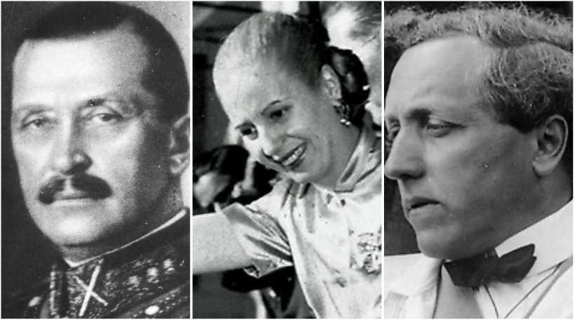 Mannerheim, Peron och Milles hyste extrema åsikter.