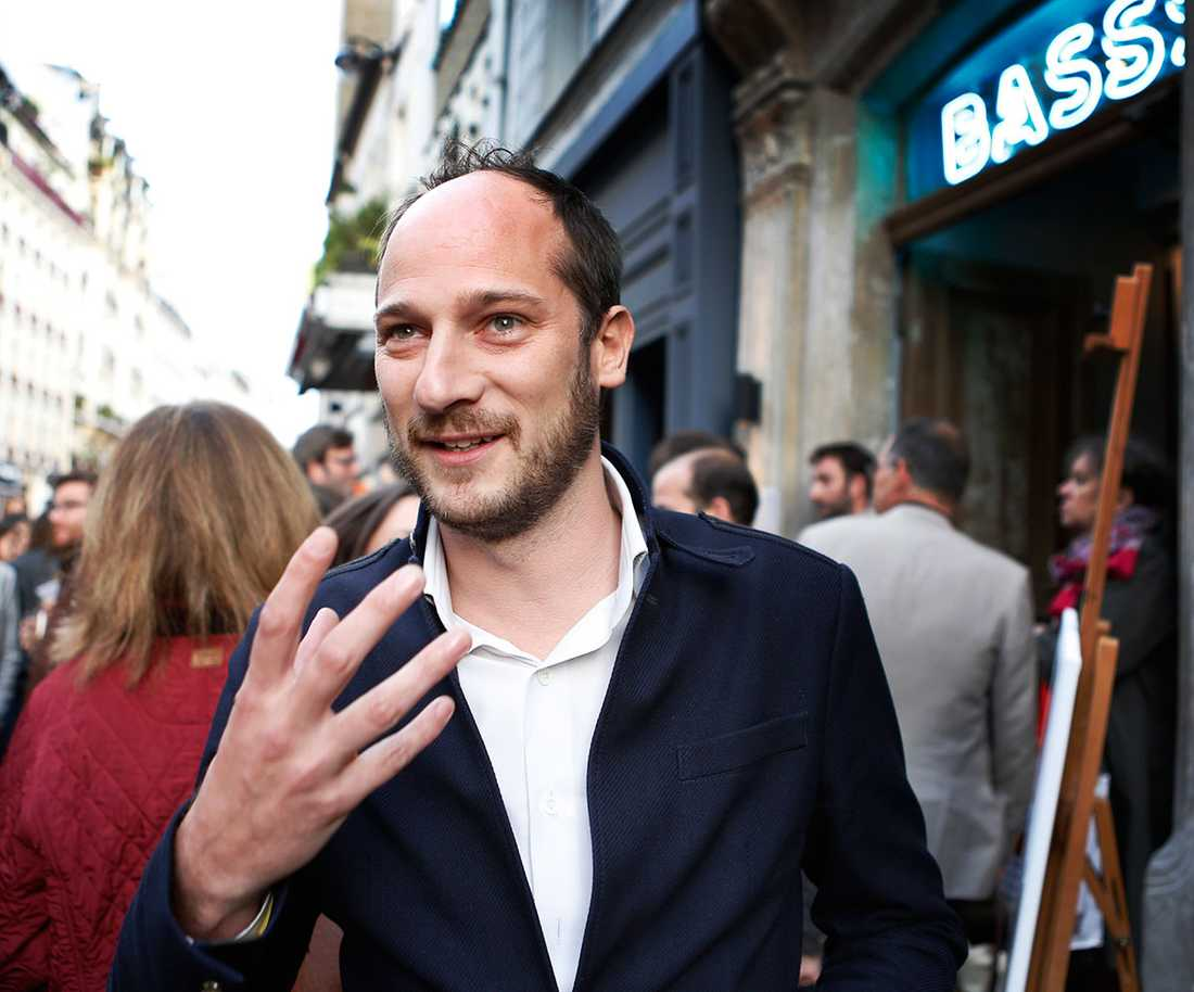 Antoine Foujols är inte rädd att gå ut. Men turisterna kommer inte längre.
