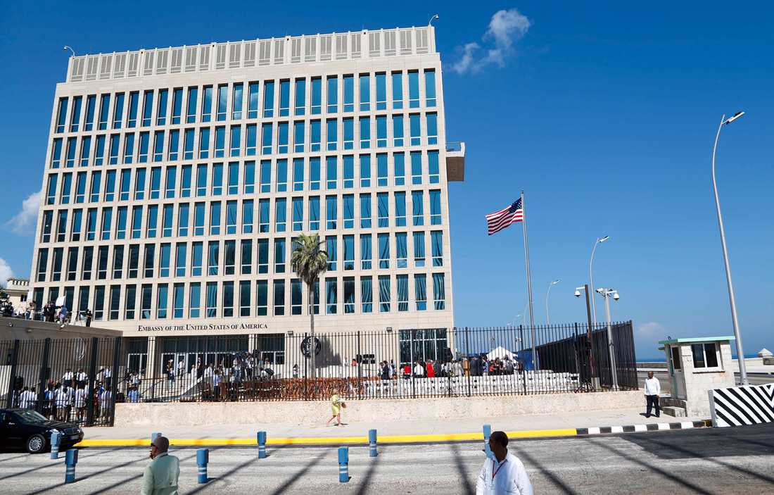 Amerikanska ambassaden i Havanna.