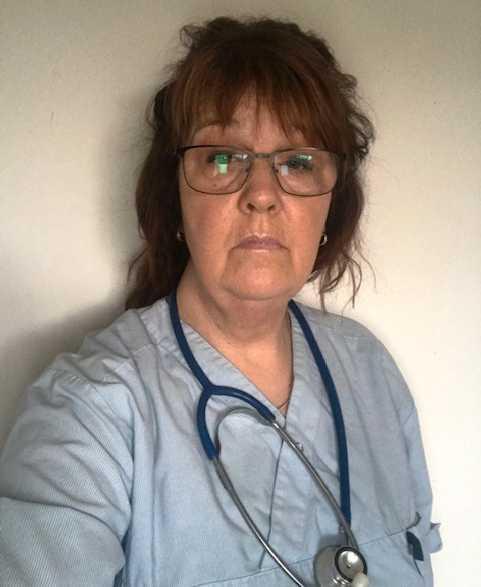 Susanne Rydberg har jobbat i vården i 26 år.