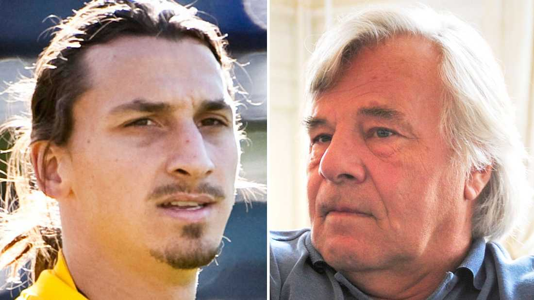 Zlatan Ibrahimovic och Jan Guillou.