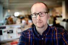 """Magnus Edlund, """"Nöjesbladet FILMs"""" expert på fantasy."""