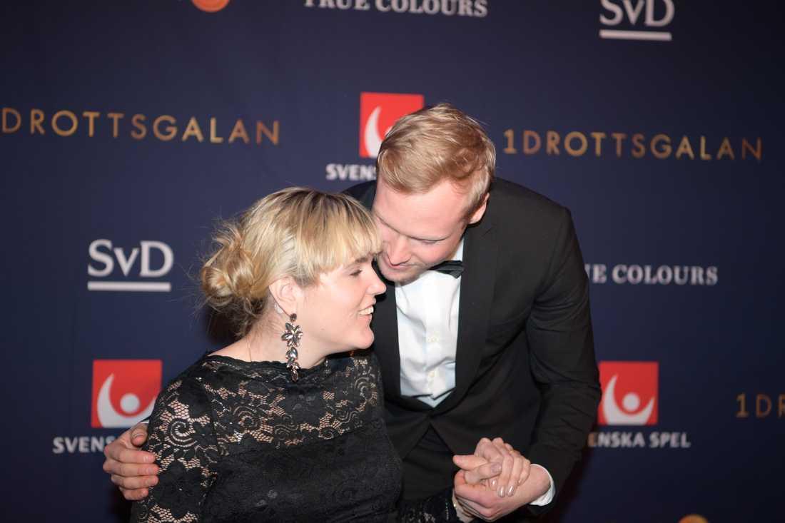 Anna Holmlund på Idrottsgalan