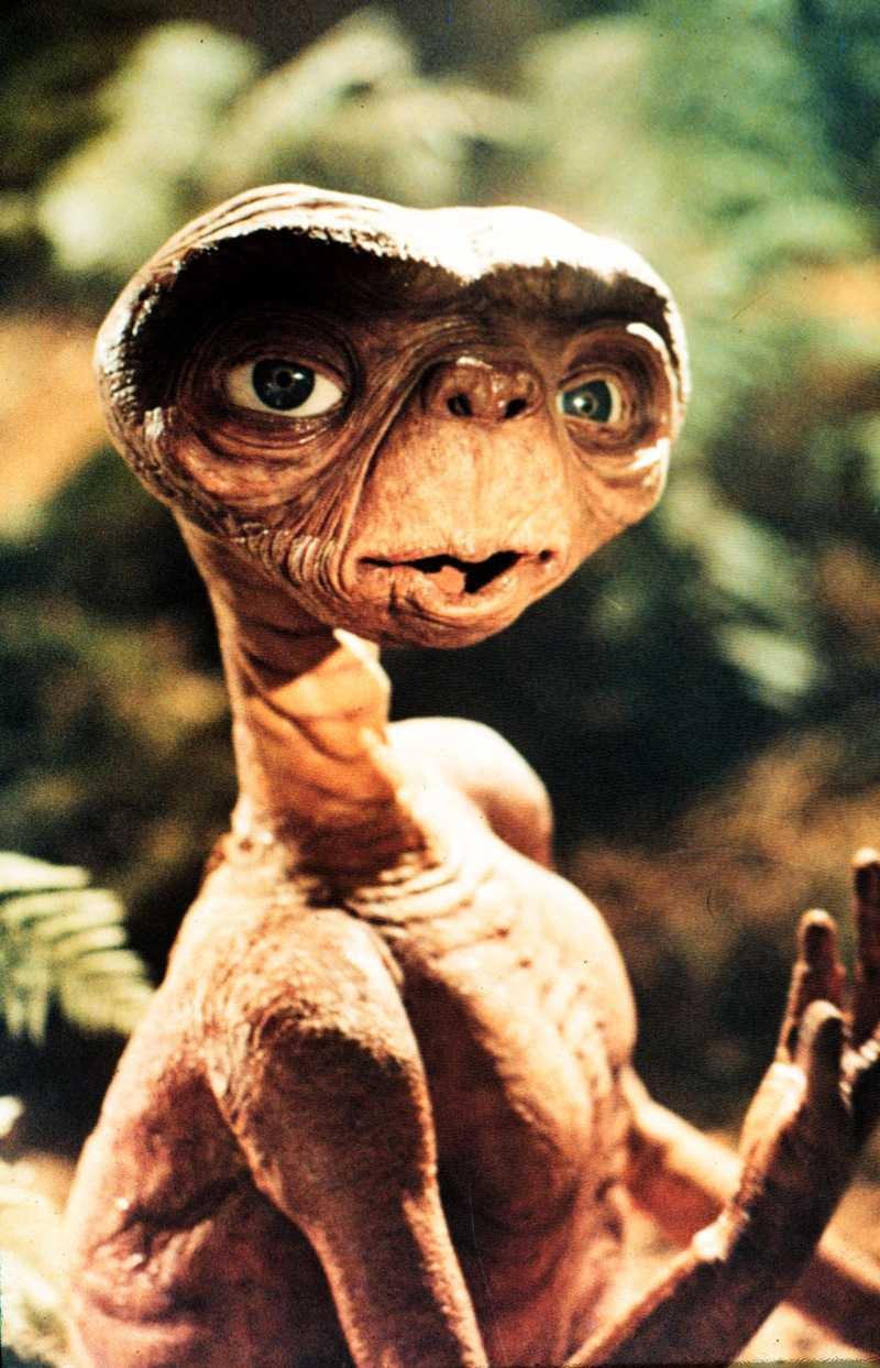E.T, The extra-terrestrial. SF-klassiker av Steven Spielberg.