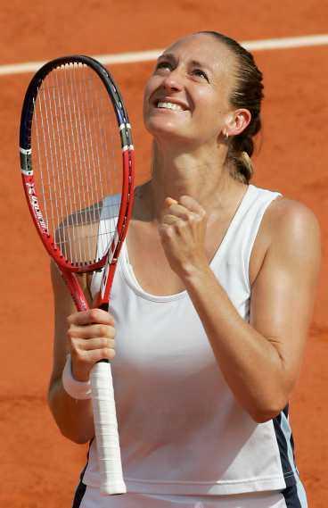 På topp igen Efter en rad motgångar har Mary Pierce gått hela vägen till Grand Slam-final igen.