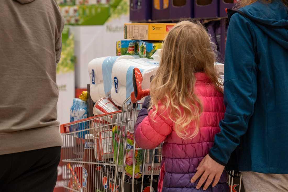 Charlottenberg Shoppingcenter har tappat 85 procent av sin omsättning sedan mars.