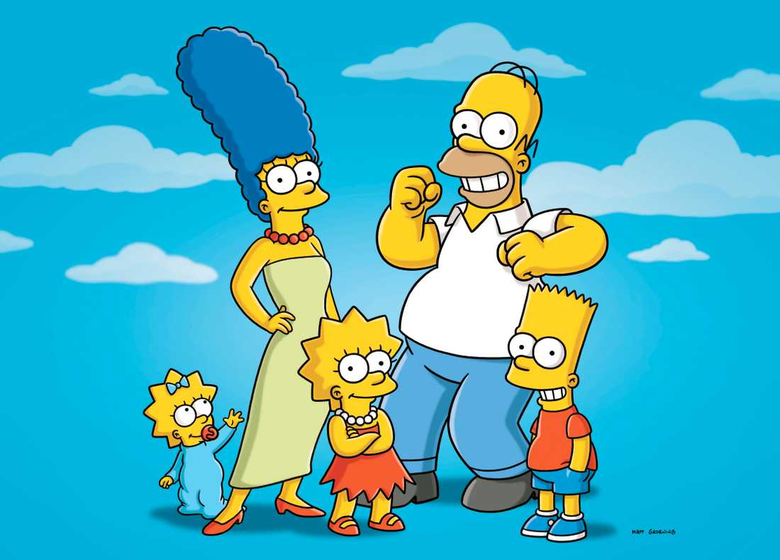 """""""The Simpsons""""."""