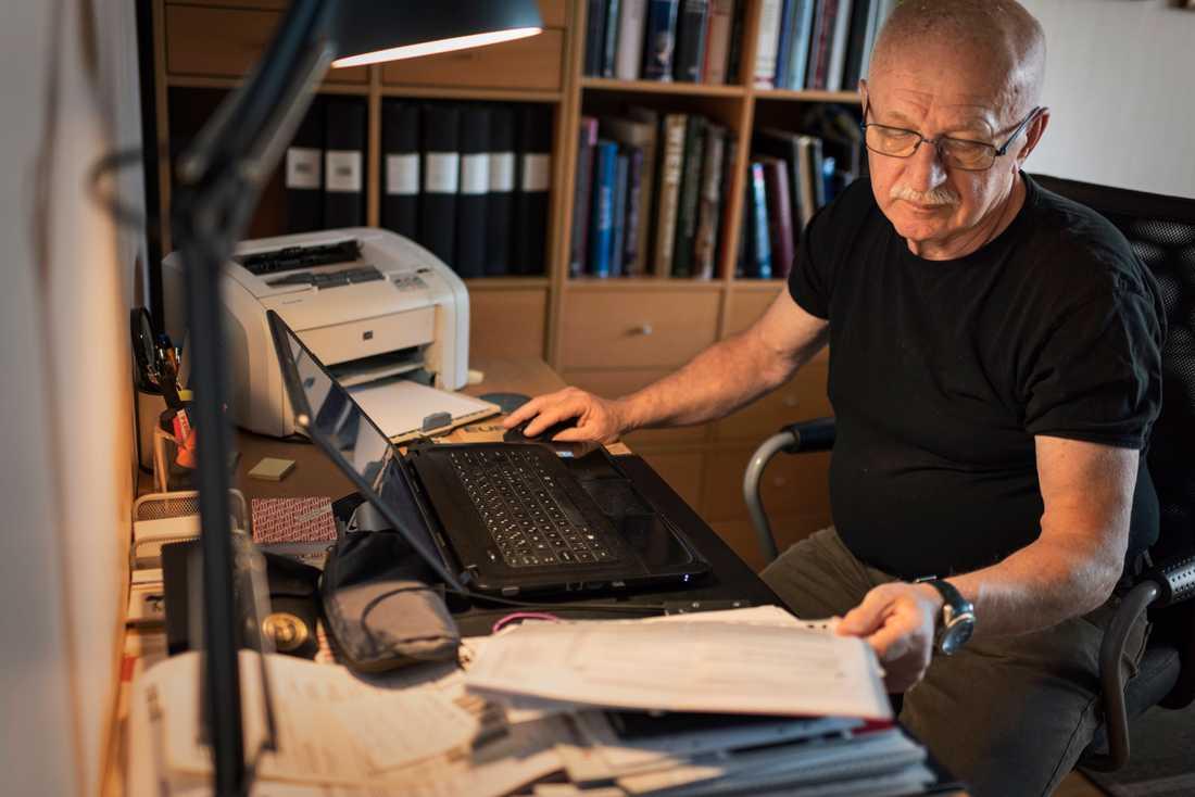 Herbert Gaugl har bott i Sverige sedan 1970-talet, men är född och uppvuxen i Österrike.