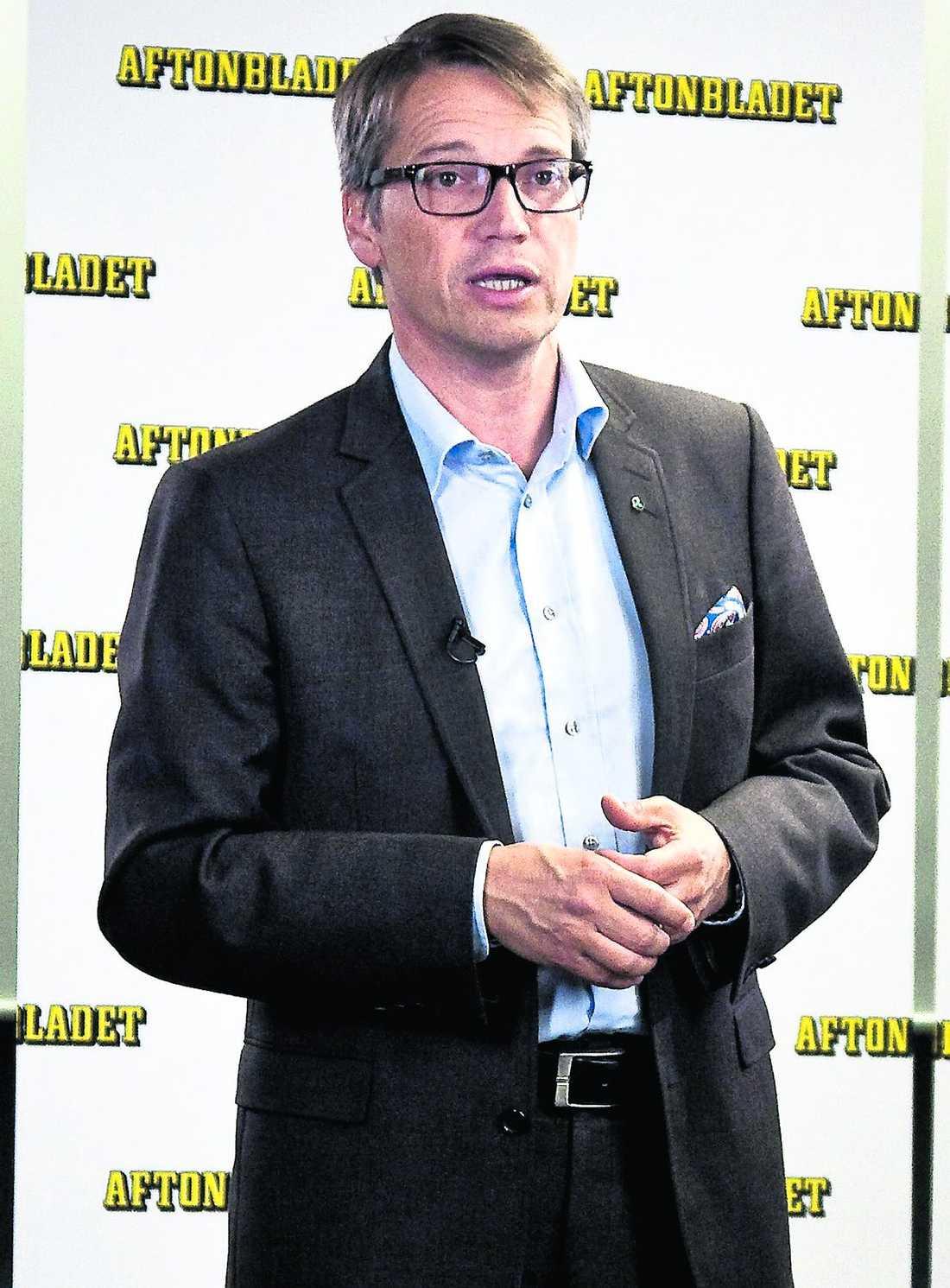 Efter Björklund var det dags för KD-ledaren Göran Hägglund att tala fritt i 15 minuter - och möta publikens reaktioner.