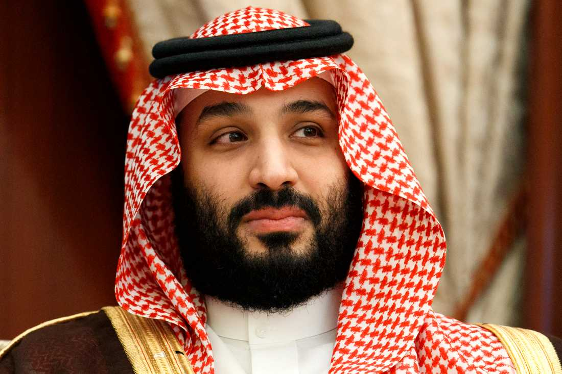 Saudiarabiens kronprins Mohammed bin Salman. Arkivbild