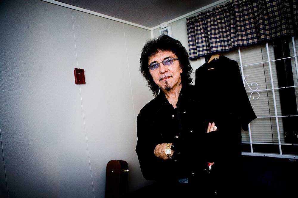 Black Sabbaths gitarrist Tony Iommi.