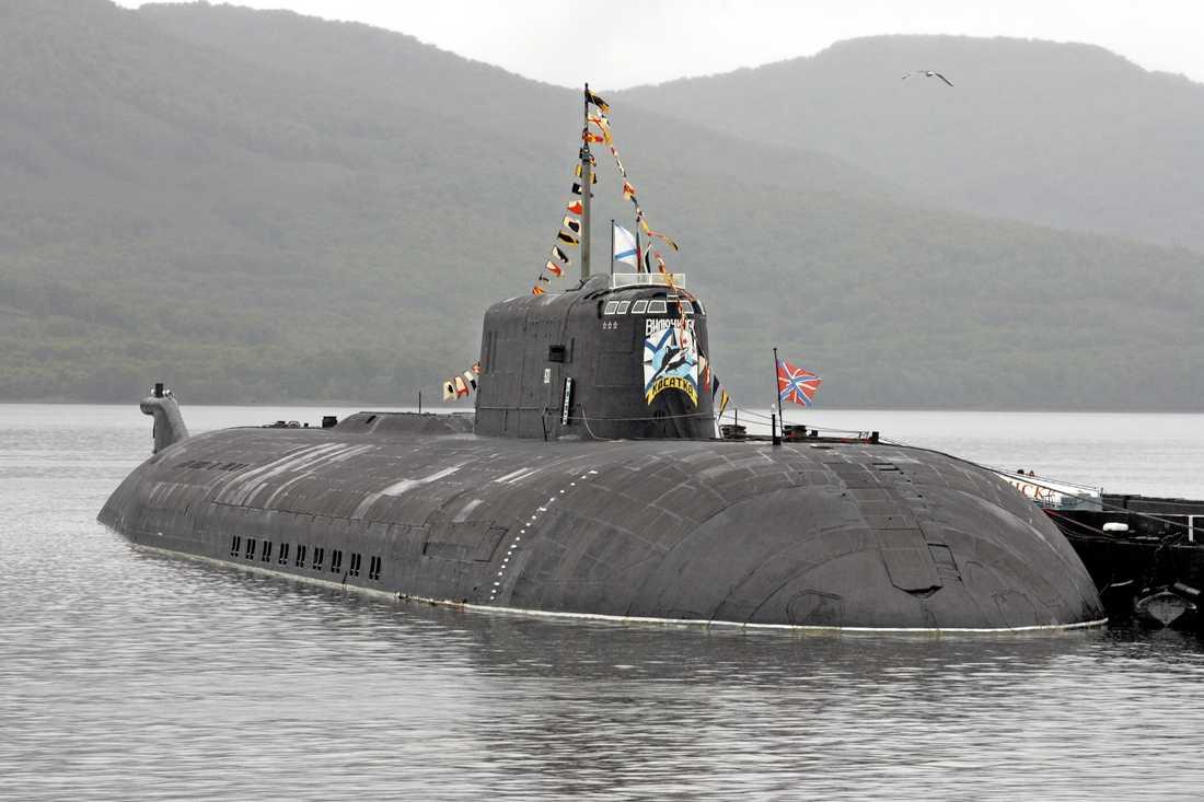 """Ryska ubåten Orel, """"Örnen""""."""