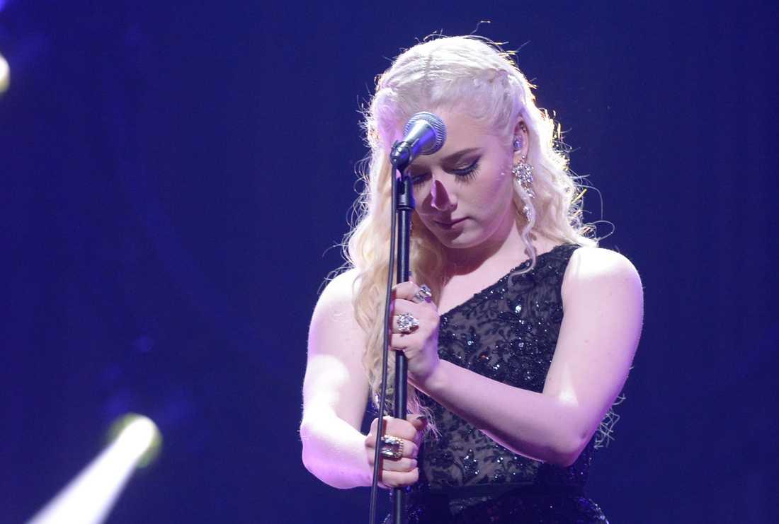 Wiktoria i Melodifestivalen 2019.