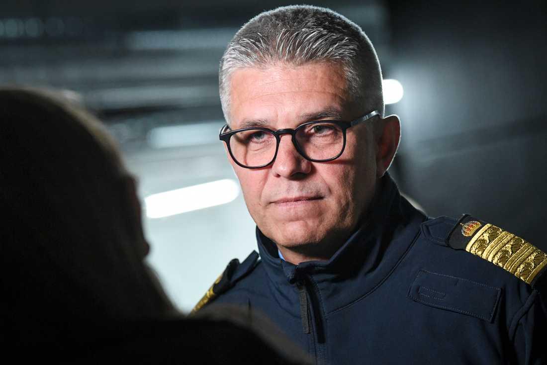 Rikspolischef Anders Thornberg. Arkivbild