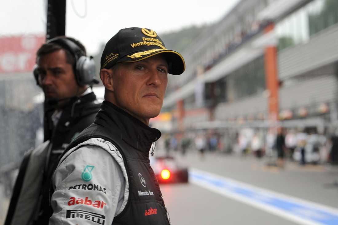 Tung helg för Michael Schumacher