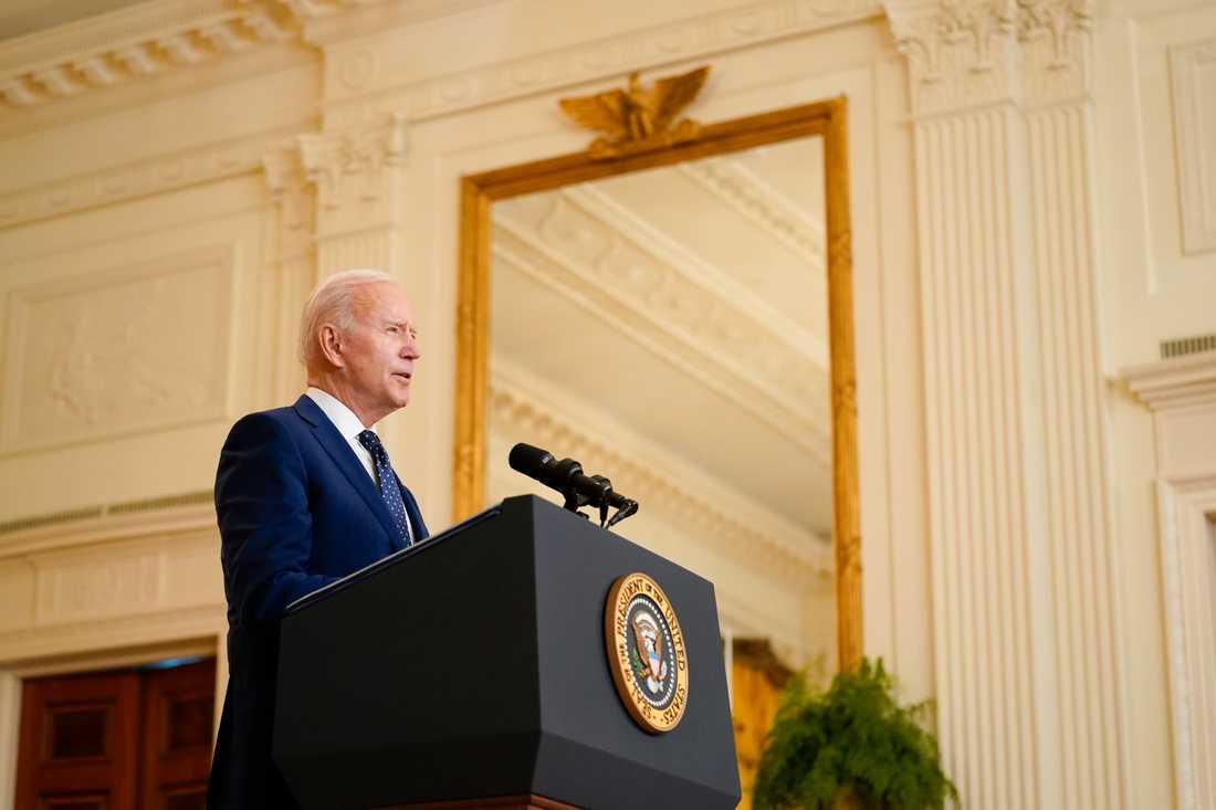 Joe Biden vill visa att USA bryr sig om klimatet.