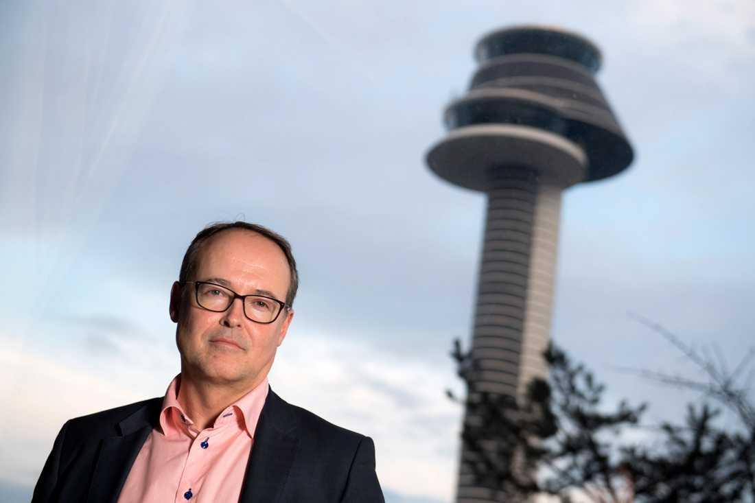 Jonas Abrahamsson, VD och koncernchef för Swedavia. Arkivbild.