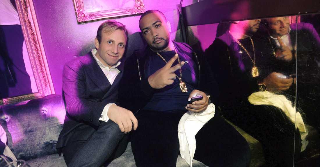 Timbaland vid en tidigare fest på Rose