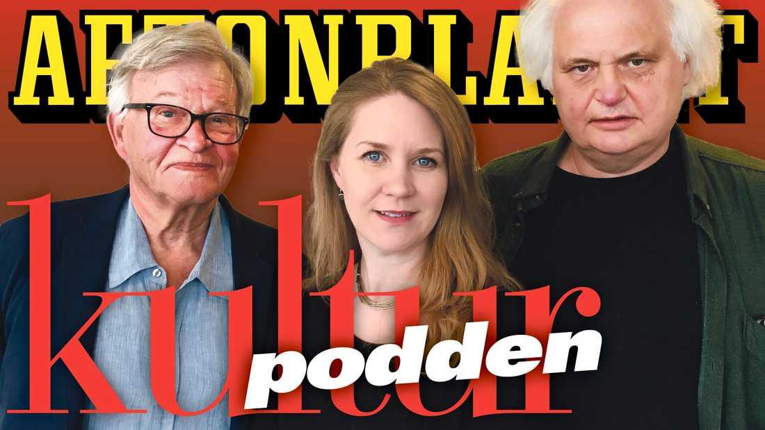 Olle Svenning, Cecilia Djurberg och Göran Greider pratar om Édouard Louis i veckans poddavsnitt