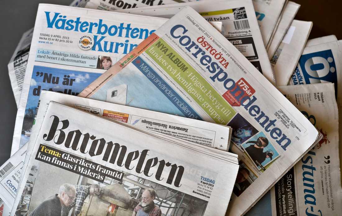 Traditionella lokala nyhetsmediers roll har försvagats och sociala medier har fått en mer central roll i lokala valrörelser, visar en studie. Arkivbild