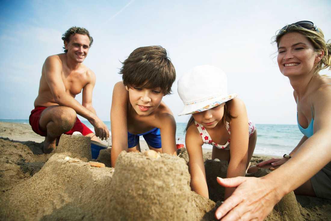 """Alla gillar inte sand. En resenär klagade på att stranden var """"för sandig""""."""
