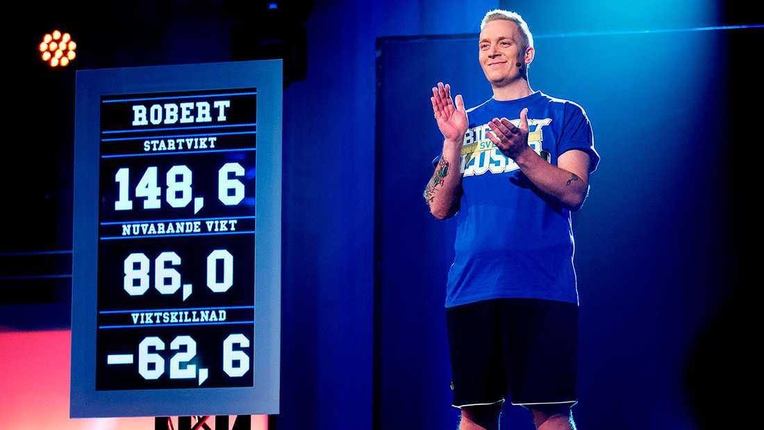 "Robert Sander vinner ""Biggest loser"" 2015."