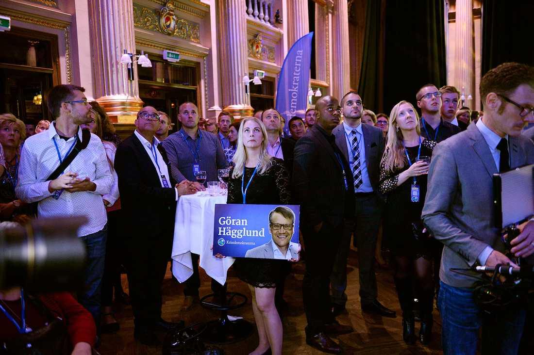 Kristdemokraterna tappar väljare till SD.