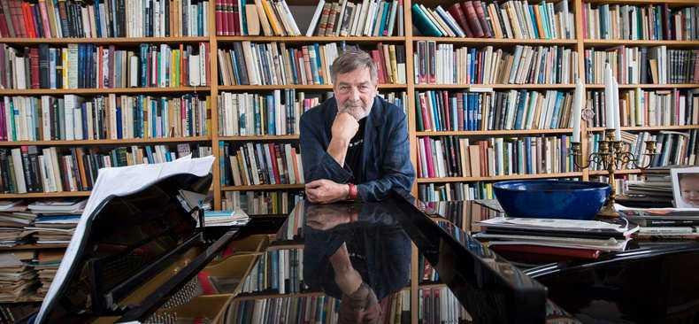 Claes Andersson, poet, musiker, politiker.