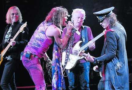 Aerosmith är peppade.
