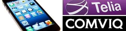 Skillnaderna mellan mobiloperatörernas fastprisabonnemang vid köp av Iphone 5 är stora.