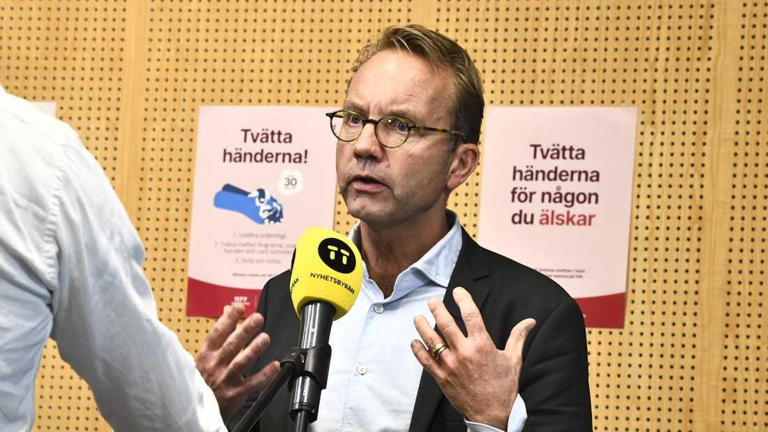 Hälso- och sjukvårdsdirektör Björn Eriksson. Arkivbild.