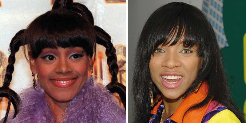"""Lisa """"Left Eye"""" Lopes kommer i den kommande filmen om TLC att spelas av artisten Lil Mama (till höger)."""