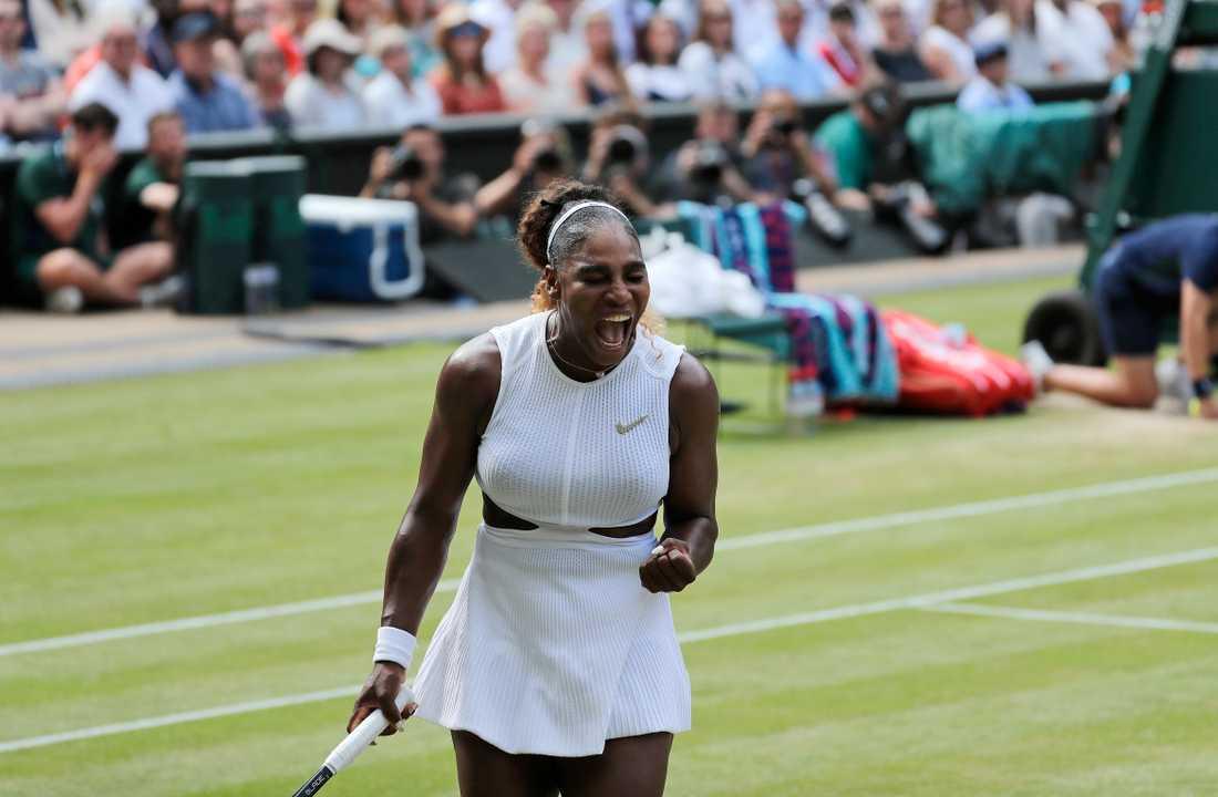 Serena Williams har under kalenderåret tjänat 280 miljoner kronor. Arkivbild.