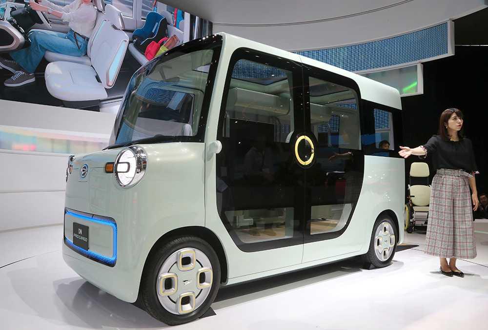 Daihatsu – Pro Cargo är en tänkbar framtidsbil – elektrisk och självkörande.