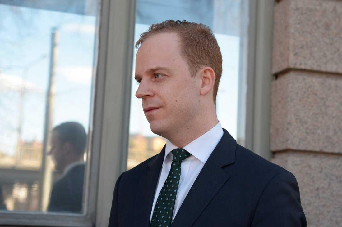 Gustav Kasselstrand är ordförande för det nya partiet Alternativ för Sverige. Arkivbild.
