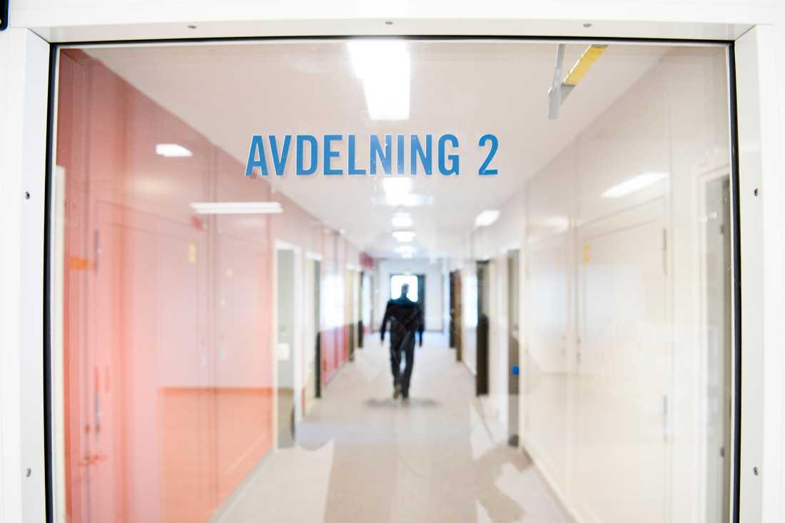 Den öppna klass 3-anstalten Skenäs utanför Norrköping. Arkivbild.