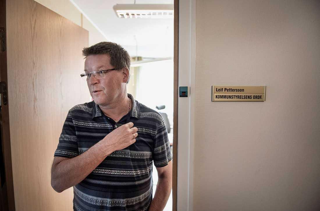 """""""Nazisterna skapar obehag och otrygghet"""", säger kommunalrådet Leif Pettersson (S)."""