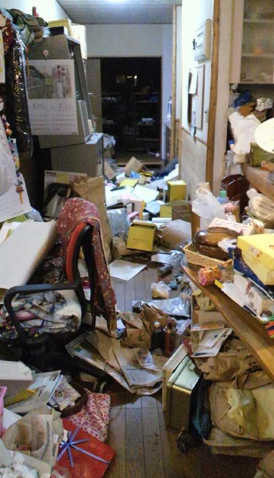 Skalvet orsakade stora skador i huset.